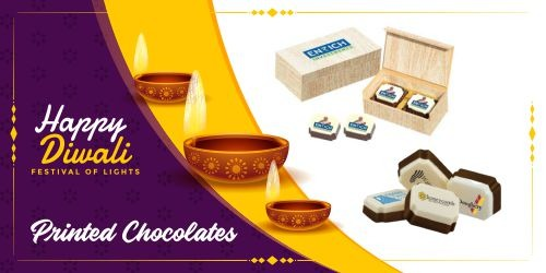 printed chocolates gifts pack