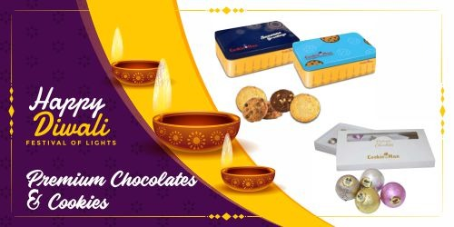 premium chocolate and cookies