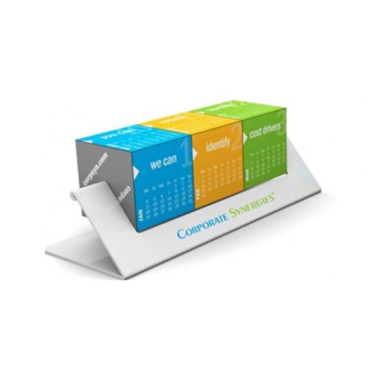 The rotating Calendar Cubes