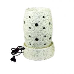 Ceramic vaporizer with 40 watt electric bulb
