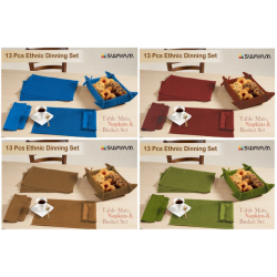 13 Pcs Ethnic Dinning Set - CGP-3037