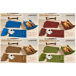 13 Pcs Ethnic Dinning Set - CGP-3037