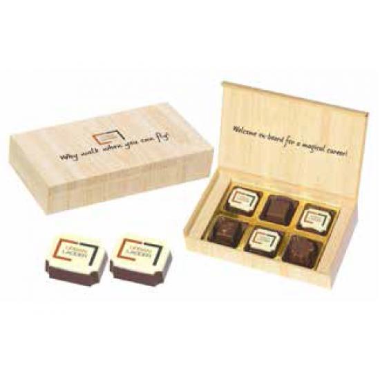 6 Chocolate Box – Alternate Printed Chocolates - CGP-1994