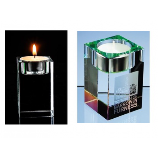 The Solid Crystal Candle Stand - CGP-1199