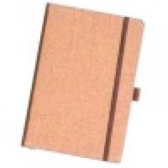 Cork Cover Note Book