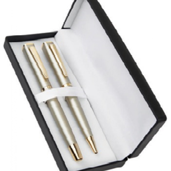 Matte Gold Metal Pen Set CGP-2082