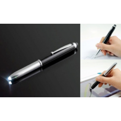 3 in 1 Stylus Cum Torch and Ball Pen