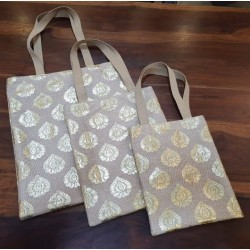 3 in 1 Jute Bag (Set of 3 pcs)