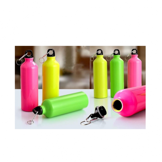 Neon Sports Sipper  with Carabiner