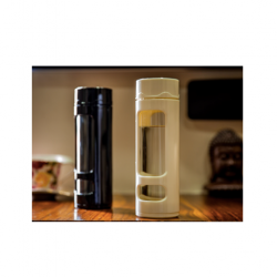 Glass Bottle with Pill Holder - Sipper
