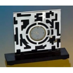 Silver Plated Clock Maze