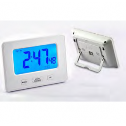 Large display clock with table
