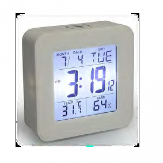 Elegant Back Square clock