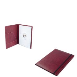Eco Leatherette Conference Folder with Pad