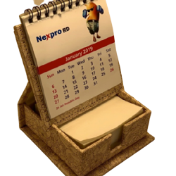 Dg print Slip box with calendar