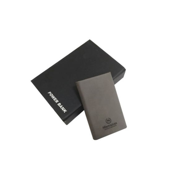 Soft Covered Power Bank with 4200 mAh capacity