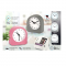 NIGHT LAMP CLOCK WITH ALARM AND SUPER SWEEP MOVEMENT