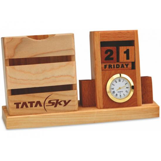 3 in 1 wooden desk set (CGP-2790)