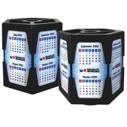 Classic Hexagon 2020 Calendar Pen Stand (CGP-2799)