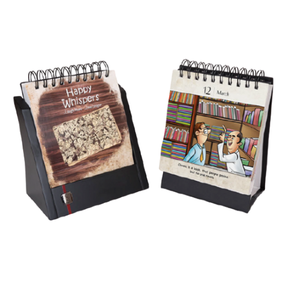 Perpetual Calendars with Wooden Stand