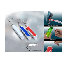 4 in 1 Key Chain Mobile stand with bottle and cane opener - CGP-1513