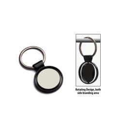 Metal Keychain in Round Shape