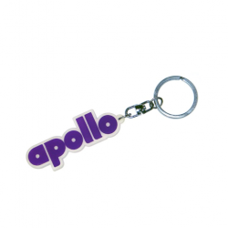 Silicon logo Printed keychains