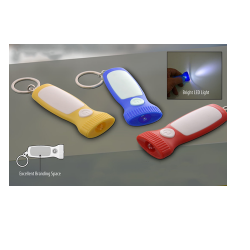 FLASHLIGHT STYLE KEYCHAIN WITH TORCH - CGP-2742