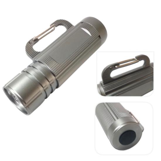 Heavy Duty Metal 9 LED Torch
