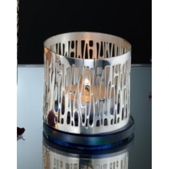 Silver Plated Tealights Holder Caramel