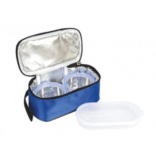 Lunch Box Set of 2 with Tray