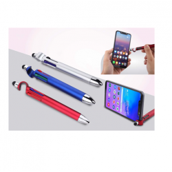 4 REFILL PEN WITH MOBILE STAND AND STYLUS - CGP-2751