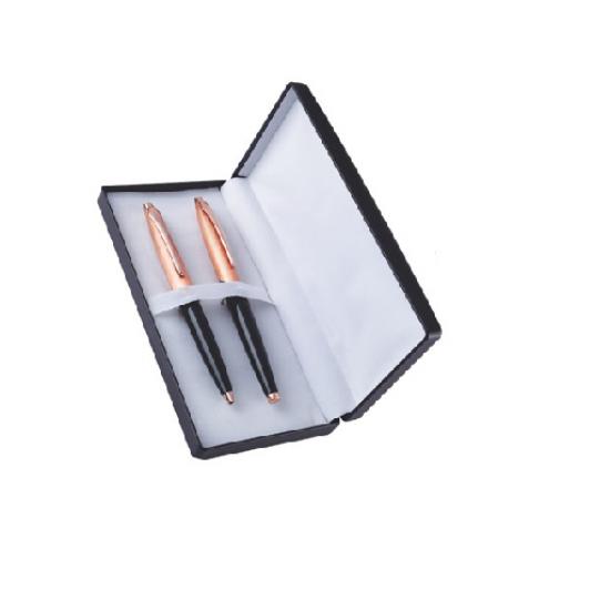 Black & Bronze Metal Pen Set