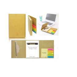 Eco-friendly note pad with Eco-friendly pen