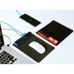 Mouse Pad with USB Hub and Stationery Holder