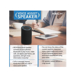 XECH Voice Assist Speaker