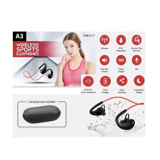 XECH Wireless Sports Earphone
