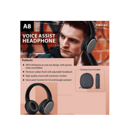 XECH A8 Voice Assist Headphone
