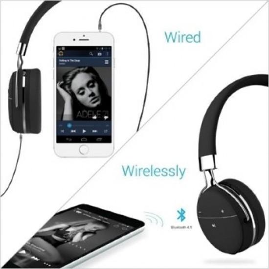 Portronics Wireless Music Headphone with AUX Port