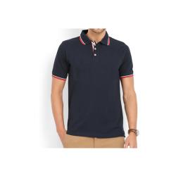 Swiss Military Mens Polo T-shirt -Regular fit - Navy Blue