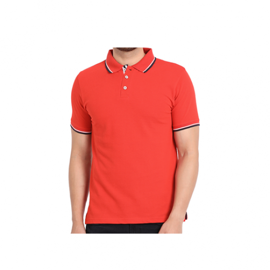 Swiss Military Mens Polo T-shirt -Regular fit - Red