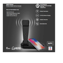 XECH Pulse Wireless Charger With Smart Handset - CGP-2467