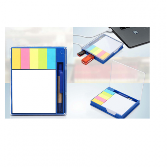 BIG USB HUB WITH STICKY NOTES, WRITING PAD AND PEN | 3 USB PORTS - CGP-2727