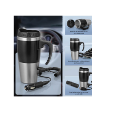 Car Heater Mug with Car/USB Charger