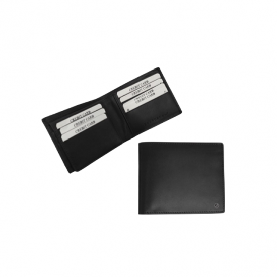 Boardroom Leather money clip Wallet with Card Holder Slots