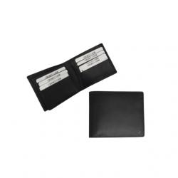 Boardroom leather money clip wallet