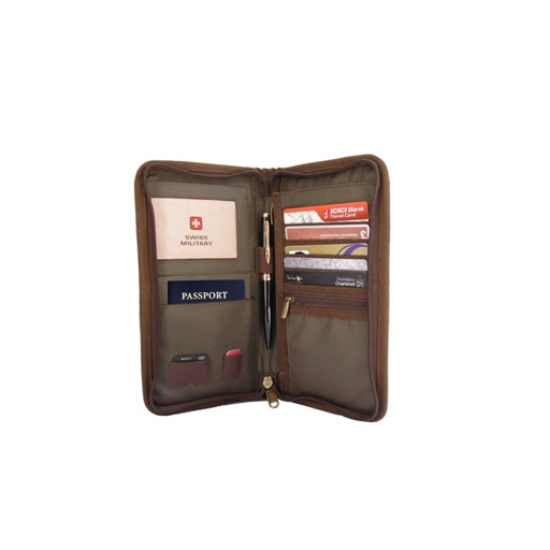 SWISS MILITARY TRAVEL WALLET