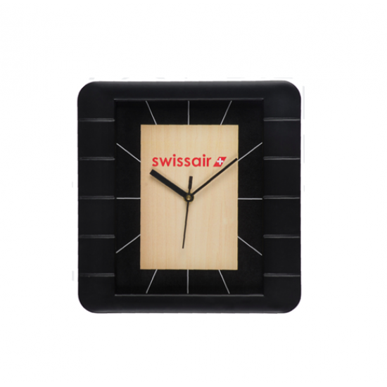 Rectangle  Wall Clock with Stylish Frame