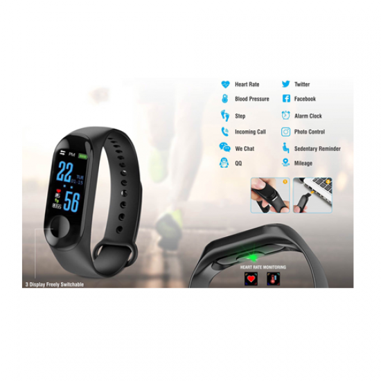 SMART FITNESS BAND WITH COLOR DISPLAY - CGP-2535