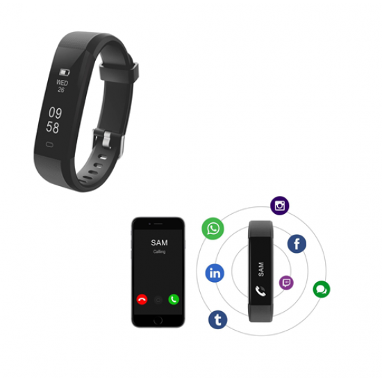 Yogg Plus.Smart Fitness Wristband - CGP-2553